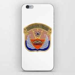 USS WOODROW WILSON (SSBN-624) PATCH iPhone Skin