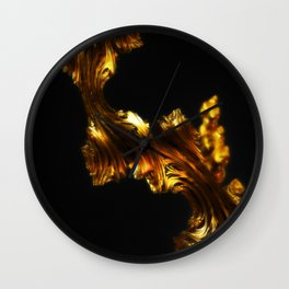 Like Gold, Not Gold Wall Clock