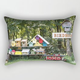 Birdhouses for Sale Rectangular Pillow
