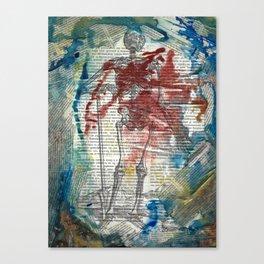 Vesalius Grave digger Canvas Print