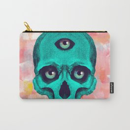 SKULL X BACK Carry-All Pouch