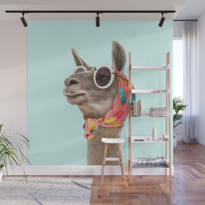 FASHION LAMA Wall Mural