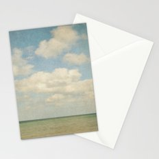 sea square III Stationery Cards
