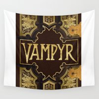 buffy Wall Tapestries featuring Vampyr Book -- Buffy the Vampire Slayer by BovaArt