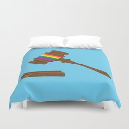 The Equal Protection Clause Does Not Require States To License Same-Sex Marriages Duvet Cover