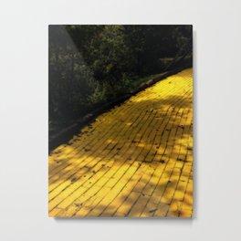 Follow The Yellow Brick Road Metal Print