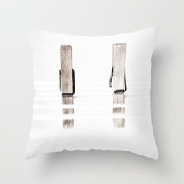Ready for the bowing Throw Pillow