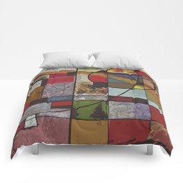 Circle of Colors Comforters
