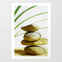 relax Art Prints featuring Relax  by Tanja Riedel