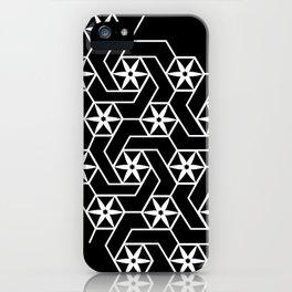 Floral Geometric Pattern iPhone Case