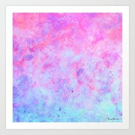 First Love - Original Abstract Art by Vinn Wong Art Print