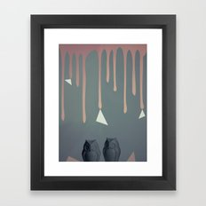 Owl Abstraction Framed Art Print