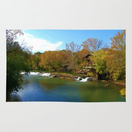 Autumn Beauty on The Big River Rug