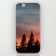 Watercolor Sunset iPhone & iPod Skin