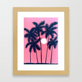 Tropical Sun Framed Art Print