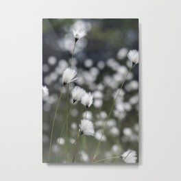 Wispy Flowers Metal Print