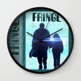 Fringe VHS Wall Clock