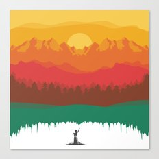 Layers Of Nature Canvas Print