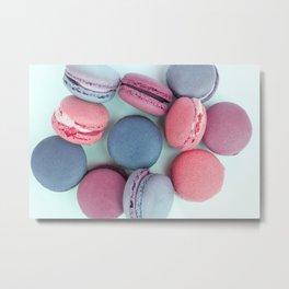 Berry Macarons Photograph Metal Print