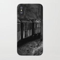 Spooky Train Slim Case iPhone X