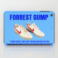 forrest gump iPad Cases featuring Forrest Gump Movie Poster by FunnyFaceArt