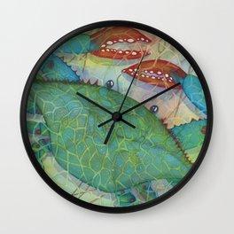 Crustacean Crazy Wall Clock