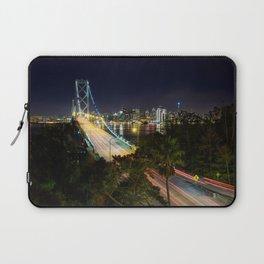Bay Bridge Lights Laptop Sleeve