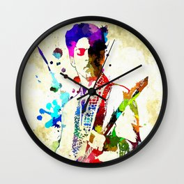 Prince in Concert Wall Clock