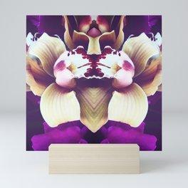 Velvet Purple Orchid Mini Art Print