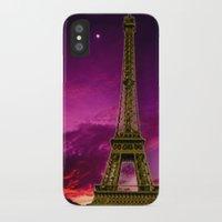 eiffel tower iPhone & iPod Cases featuring Eiffel Tower  by Elena Indolfi