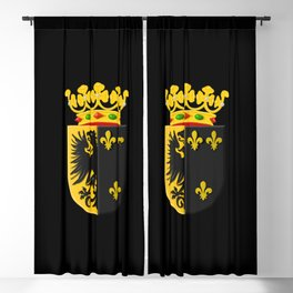 Coat of arms of Workum Blackout Curtain