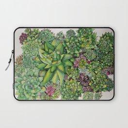 Watercolour Succulents Laptop Sleeve