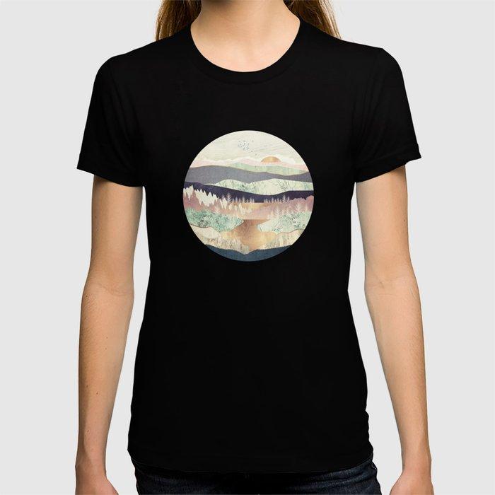 Golden Spring Reflection T-shirt