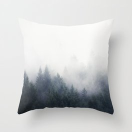 I Don't Give A Fog Throw Pillow