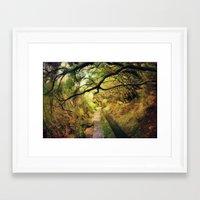 wonderland Framed Art Prints featuring wonderLand by Dirk Wuestenhagen Imagery