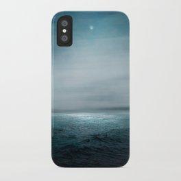 Sea Under Moonlight iPhone Case