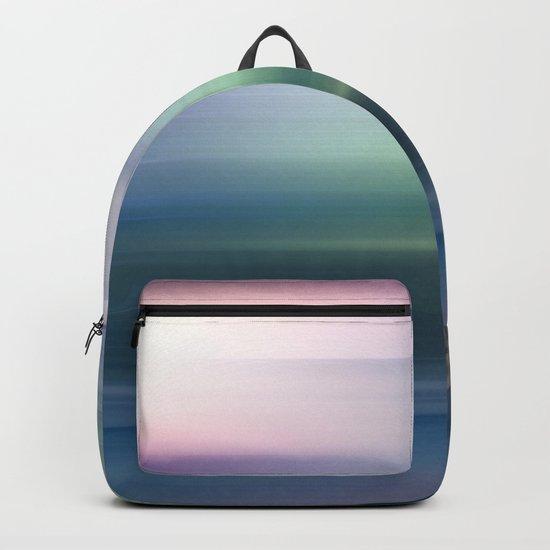 Blue Motion Backpack