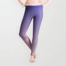 Sky Purple Aesthetic Lofi Leggings
