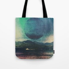 Fluid Moon Tote Bag