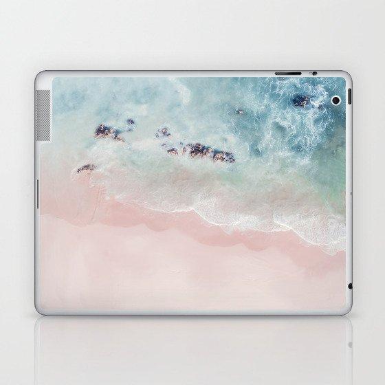 Ocean Pink Blush Laptop & iPad Skin