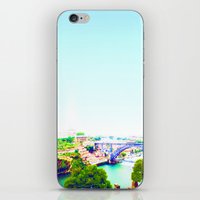 portugal iPhone & iPod Skins featuring Porto - Portugal by Louise