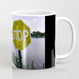 Iterations of a Stop Sign #3: Yellow Coffee Mug