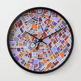 District Z3015 Wall Clock
