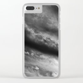 Brewing Storm VI Clear iPhone Case