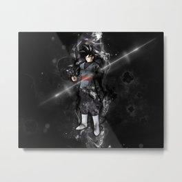 Black Goku Metal Print