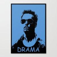 entourage Canvas Prints featuring Entourage - Johnny Drama by StriveArt