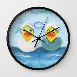 Quacks to give Wall Clock