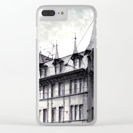 TENEMENT HOUSE OF JEŻYCE SQUARE IN POZNAŃ Clear iPhone Case