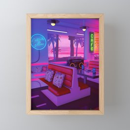 Cocktails And Dreams Framed Mini Art Print