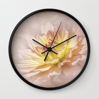 passion Wall Clocks featuring Passion by Kimberley Britt